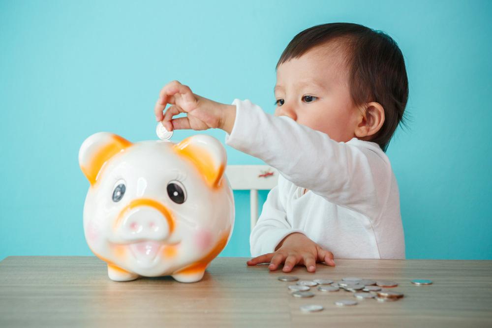 Djeca stednja novca